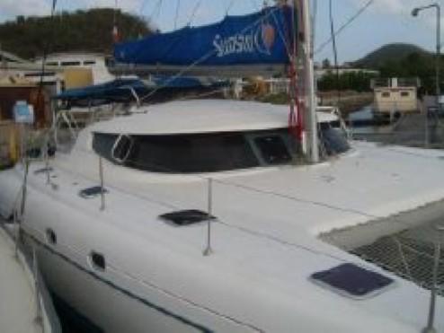 Preowned Sail Catamarans for Sale 2003 Bahia 46 Deck & Equipment